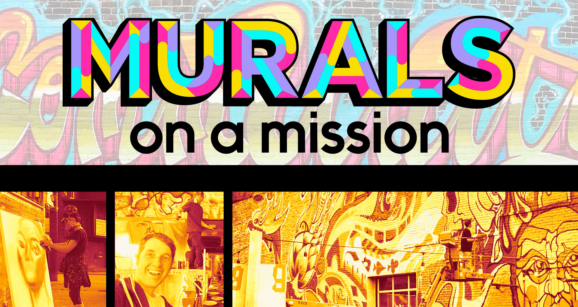 general promo for murals on a mission project